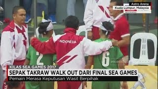 Video Dicurangi Wasit, Sepak Takraw Indonesia Walk Out dari Final Sea Games 2017 MP3, 3GP, MP4, WEBM, AVI, FLV Agustus 2017