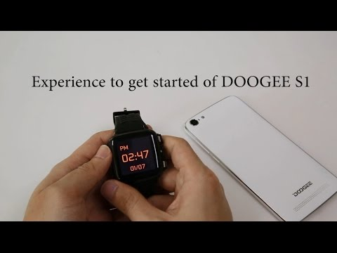 Experience to get started of DOOGEE S1