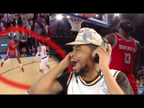 NASTIEST STEP BACK I'VE EVERRRR SEEN! JAMES HARDEN 40 POINT TAKEOVER REACTION