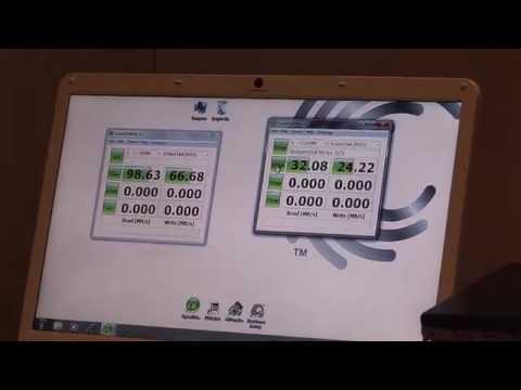 Seagate USB 3.0 Black Armor CES 2010 Announcement