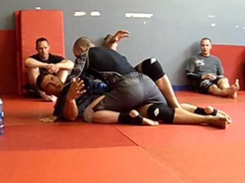 Frank Mir How To Half Guard for MMA and moving your body in unison