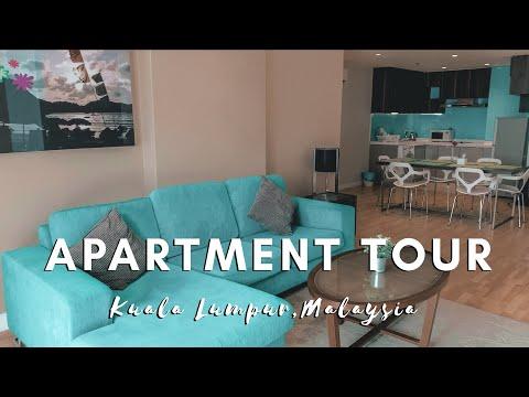 KUALA LUMPUR APARTMENT TOUR   MALAYSIA VLOG #008