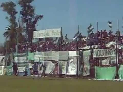 ITUZAINGO vs Alem, La Banda del Verde! - La Banda del León - Ituzaingó
