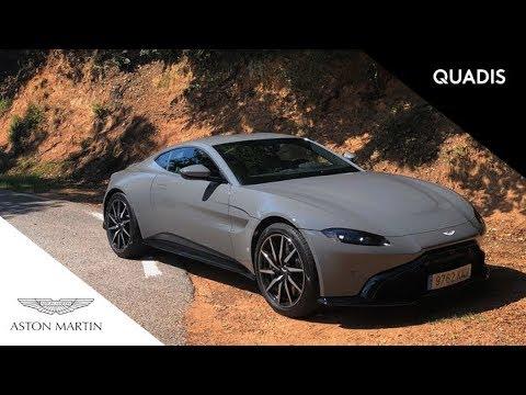 Modelos de uñas - Aston Martin Vantage  Prueba / Test / video en español  quadis.es