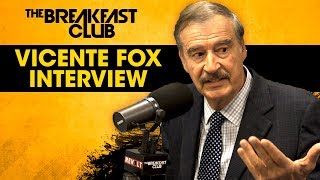Video Former Prez Of Mexico Vicente Fox Talks Donald Trump, Spirituality In Politics, Oprah + More MP3, 3GP, MP4, WEBM, AVI, FLV November 2018