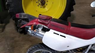 7. Xr650l DG V2 slip on exhaust