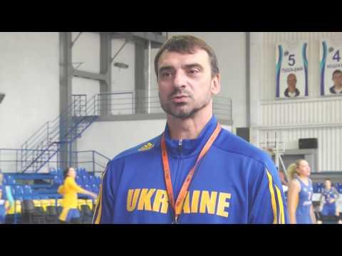 Открытая тренировка женской сборной Украины