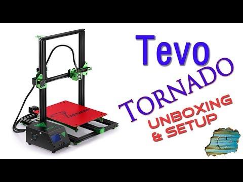 Tevo Tornado 3D Printer - Unboxing & Assembly