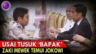 Video Usai Tu$uk Jokowi, Zaki Ditu$uk Balik, Lalu Mewek ke Jokowi MP3, 3GP, MP4, WEBM, AVI, FLV Februari 2019
