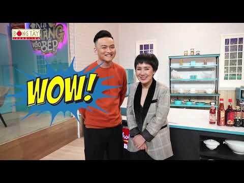 Khi Chàng Vào Bếp 2019 | Tập 3: Huỳnh Tú bất ngờ cùng chồng xuất hiện tại gameshow nấu ăn - Thời lượng: 2 phút và 26 giây.