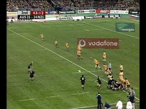 """the Greatest Game Of Rugby Ever Played"" - Wallabies Vs All Blacks, Sydney 2000"