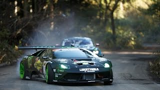 Lamborghini Murcielago And Mustang GT Drift Shootout