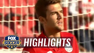Chicharito's brace makes it 2-2 against Mainz | 2016-17 Bundesliga Highlights by FOX Soccer