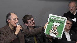 Charlie Hebdo tirajını 50'ye katlıyor