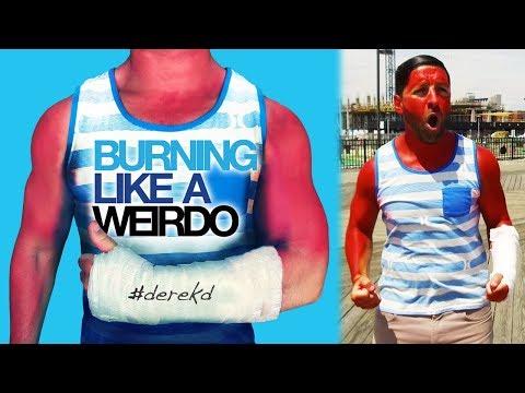 Burning Like A Weirdo PARODY of Waving Through A Window