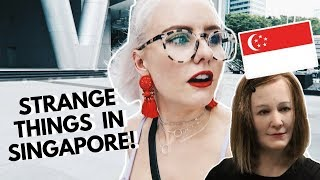 We were SHOCKED to hear what Nadine the robot said at Singapore's Art Science Museum! See what we got up to on a typical ...