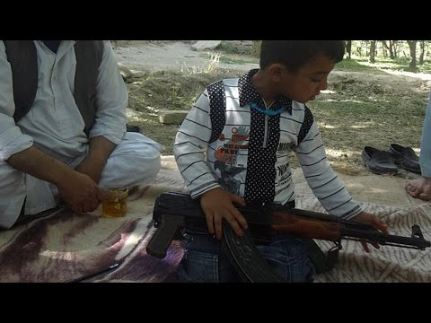 Training - Indoctrination is starting as early as 3 years old amongst some of the Taliban youth, with young male children being taught to kill. 3 Yr Old Boy Is Training To Kill People - http://dailym.ai/124...