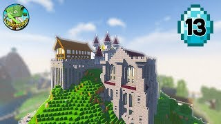 Transform a Minecraft Village into a Town E13 - THE CASTLE!