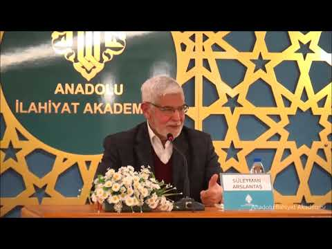 Süleyman ARSLANTAŞ ile ''İRAN ve BÖLGESEL GELİŞMELER'' Konulu Konferans