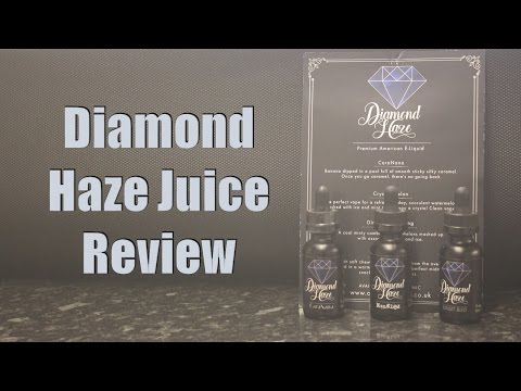 Diamond Haze Full Line Juice Review