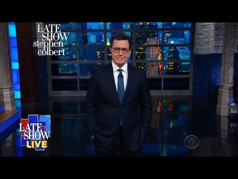 Stephen's LIVE Monologue: Trump Lays Out His Vision For Moving Forward