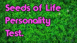 Japanese Personality Test: Planting The Seeds Of Life