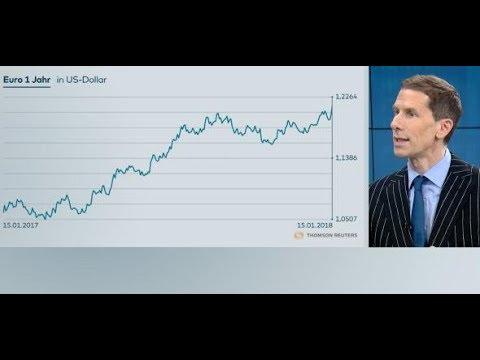 """Euro-Höhenflug: """"Das hat auch die EZB überrascht"""""""