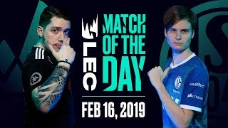 #LEC Match of the Day | Vitality vs Schalke | Saturday 16th by League of Legends Esports