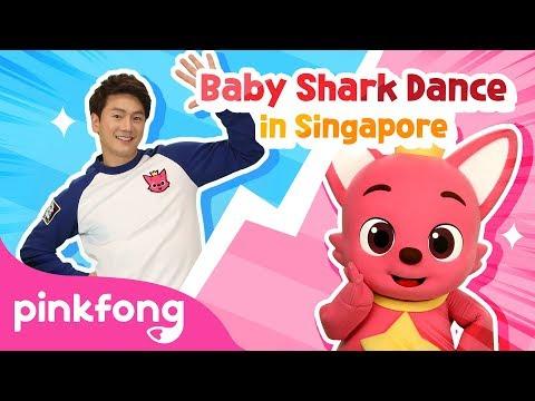 Baby Shark Dance Battle-Singapore | Baby Shark Challenge | Baby Shark vs Pinkfong - Thời lượng: 85 giây.
