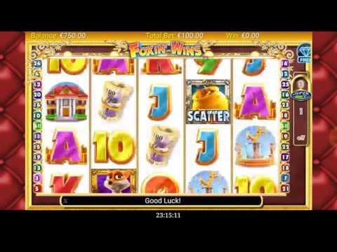 FOXIN WINS 40.000 € BIG BONUS WIN  Free Games MaxBet MOBILE SLOT