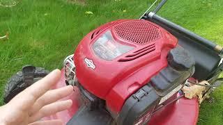 1. Toro 22in AWD Lawnmower Update