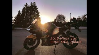 8. Kawasaki Ninja 400 Review: 5000 mile update