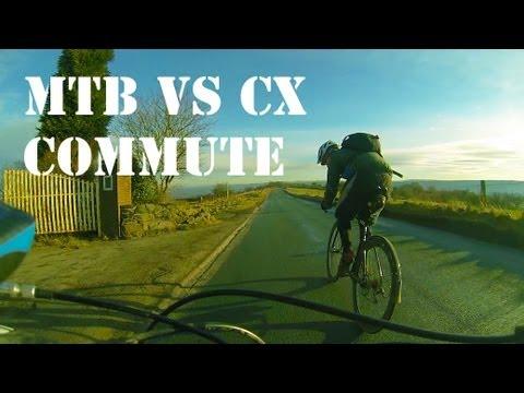 29er MTB vs CycloCross Bike, Race to Work