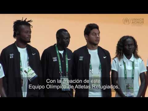 05/08/2016. #TeamRefugees es recibido por el Comité Olímpico Internacional