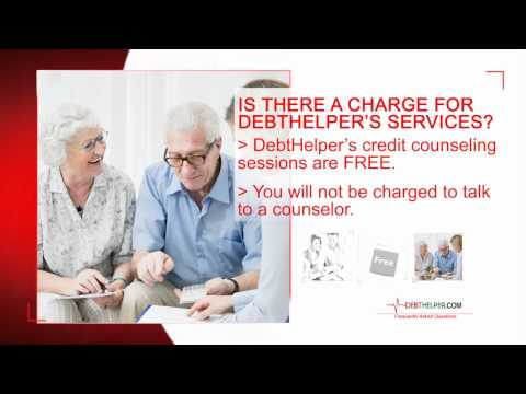 Is There a Charge for DebtHelper.com's Financial Counseling Services?