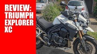 2. Triumph Explorer XC Review
