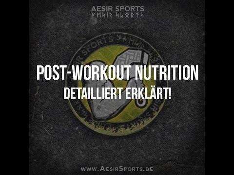 Post-Workout Nutrition detailliert erklärt | Optimal Muskeln aufbauen