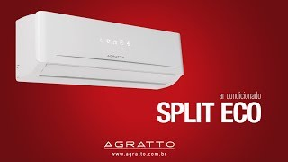 Ar Condicionado Split ECO Agratto