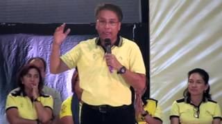 Roxas promises 'to drive' PH into 1st world country