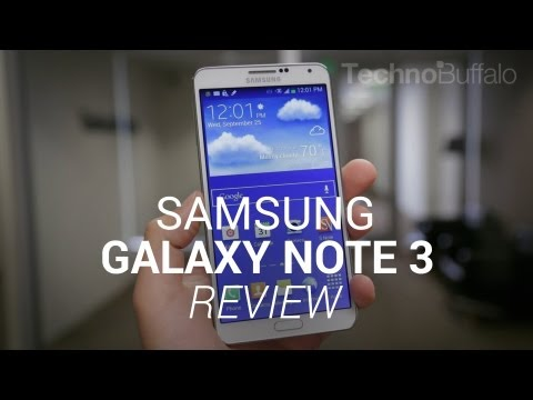 technobuffalo - Galaxy Note 3 Review Written review: http://tchno.be/19hPh7h There was a lot of buzz leading up to the Galaxy Note 3 launch. The device is the third in Samsu...
