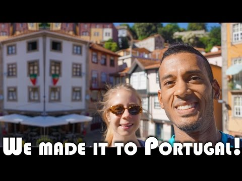 WE MADE IT TO PORTUGAL! - UK DAILY VLOGGERS MOVING TO PORTUGAL (ADITL EP341)