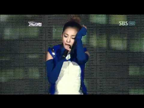 2NE1 – Ugly+I'm the best @SBS MUSIC FESTIVAL 가요대전 20111229