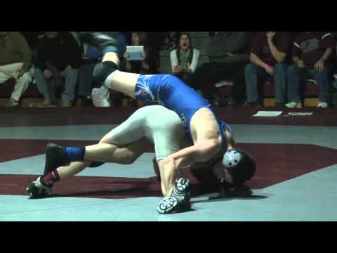 Stephan Friedman - Wrestling at 132lbs, Maxwell Nauta of Warren Hills defeated Stephen Friedman of Phillipsburg by a score of 10-0 in the finals of the District 1 Championships...