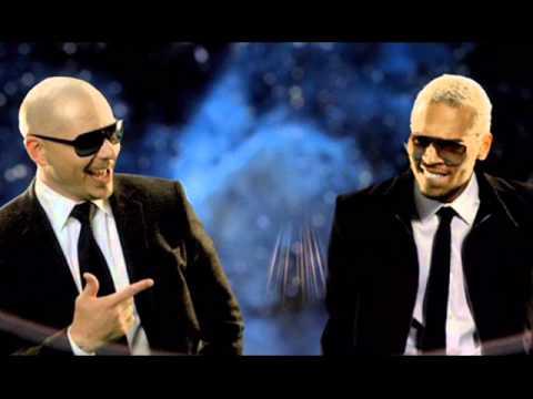 International love Pitbull & Chris Brown