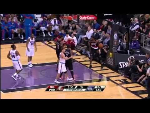 Wesley Matthews to Gerald Wallace against Kings