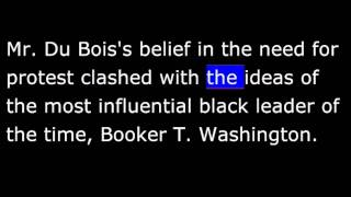 Du Bois United States  City pictures : Biography - BW - W.E.B. Du Bois - African-American writer, teacher and protest leader