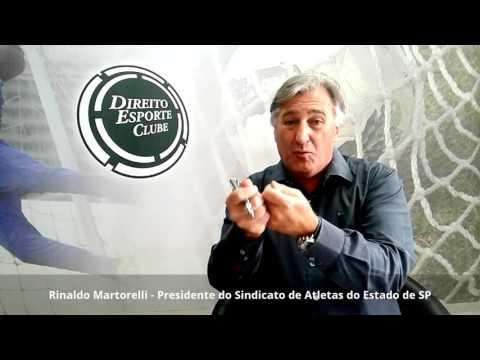 Rinaldo Martorelli fala sobre ação judicial que tenta paralisar o Paulistão