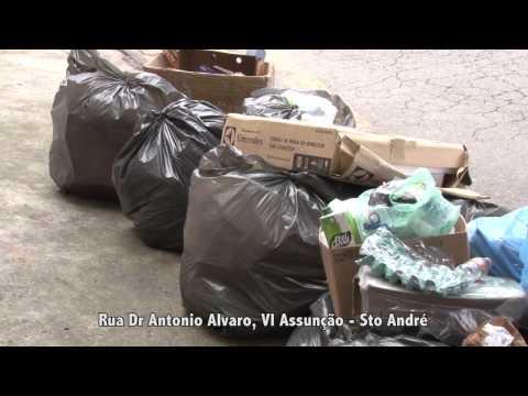 Greve dos coletores: cinegrafista registra locais com lixos acumulados; veja vídeo