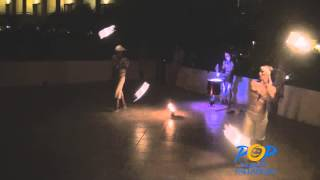 Fire Show & White Party