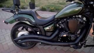 8. Yamaha Stryker Bullet Cowl 2015 green